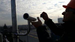 installazione telecamera